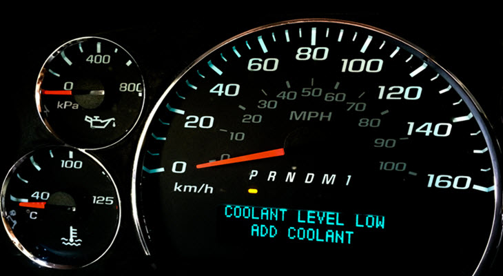 Porsche Coolant Level Low