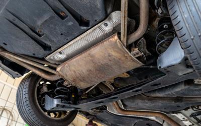 Isuzu Exhaust System Check
