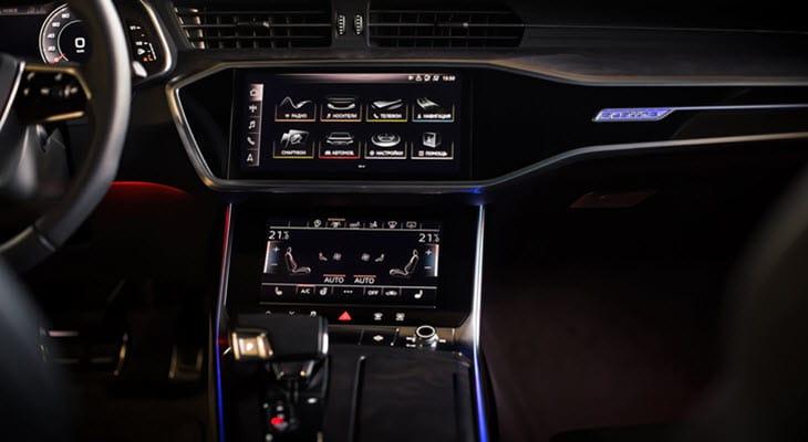 Audi A7 Digital Dashboard