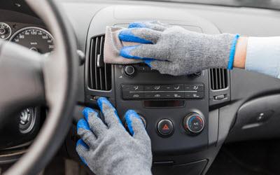 Cleaning Audi Digital Dashboard After Repair